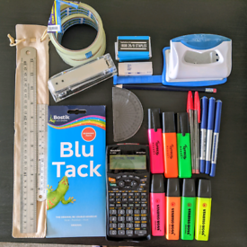 Stationery Kit - Calculator - Stapler - Office Essentials