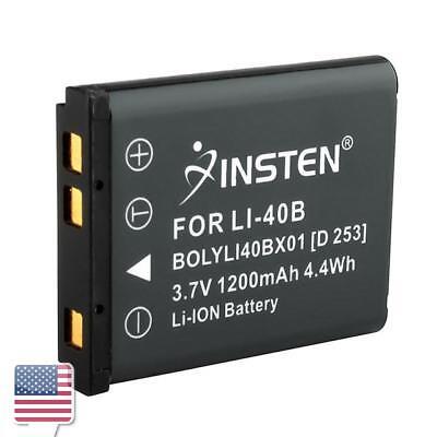 3.7V 1200mAh Rechargeable Li-Ion Battery for Nikon EN-EL10 Olympus Li-40B Li-42B
