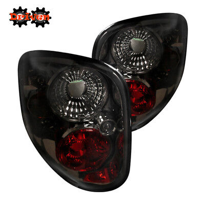97-00 Ford F150 Flareside Pick up Step Side EURO Tail Light Smoked Tinted