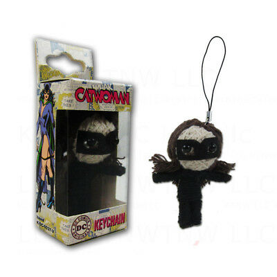 New DC Comic Cat woman String Doll VooDoo Doll Key Chain Cell Phone Strap](Hello Kitty Voodoo Doll)
