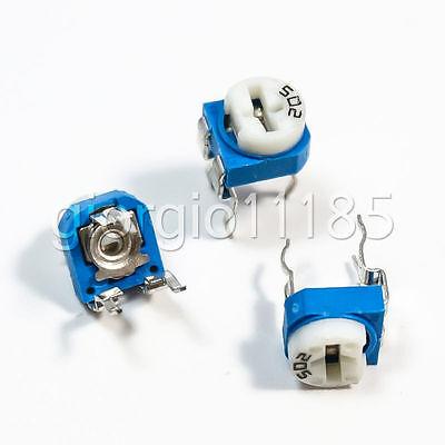 Us Stock 20pcs 10k Ohm Trimmer Trim Pot Variable Resistor 6mm