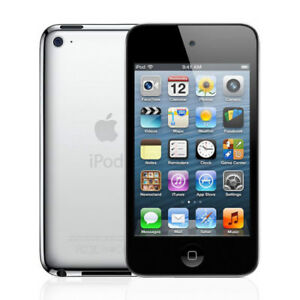 iPod Touch (black, 4th gen, 32 gb) and Sena Leather Case