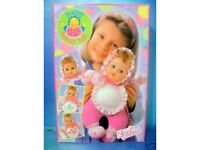 BABY FUNNY BIB ZAPF DOLL Brand New Doll by Zapf Creation Rare and collectible