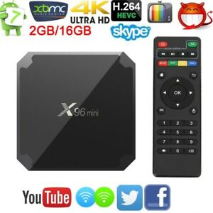 X96 Mini TV Box Android 7.1.2  2GB +16GB 4K