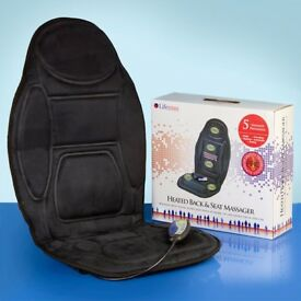 Heated Seat & Back Massager - if its on for sale I still have it