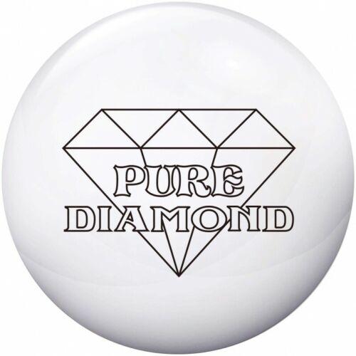NEW Legends Pure Diamond Pearl Reactive Bowling Ball, White, 15 LB