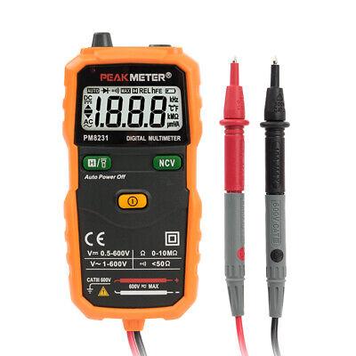 Peak-meter Pm8231 Smart Automotive Digital Multimeter Peakmeter Auto Dmm