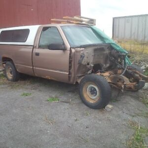 Parting Out A 1996 GMC