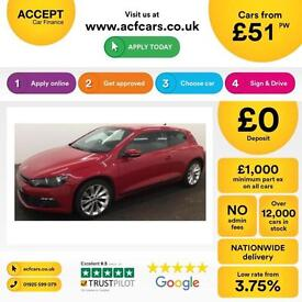 Volkswagen Scirocco 2.0TDI ( 140ps ) BlueMotion Tech 2013MY GT FROM £51 PER WEEK