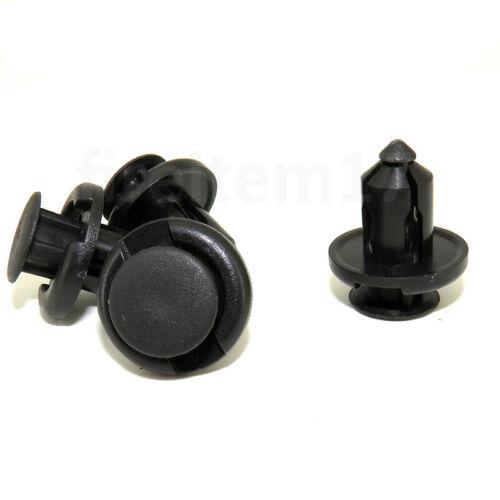 50pcs Plastic Rivet Fastener Bumper Clip Retainer Screw