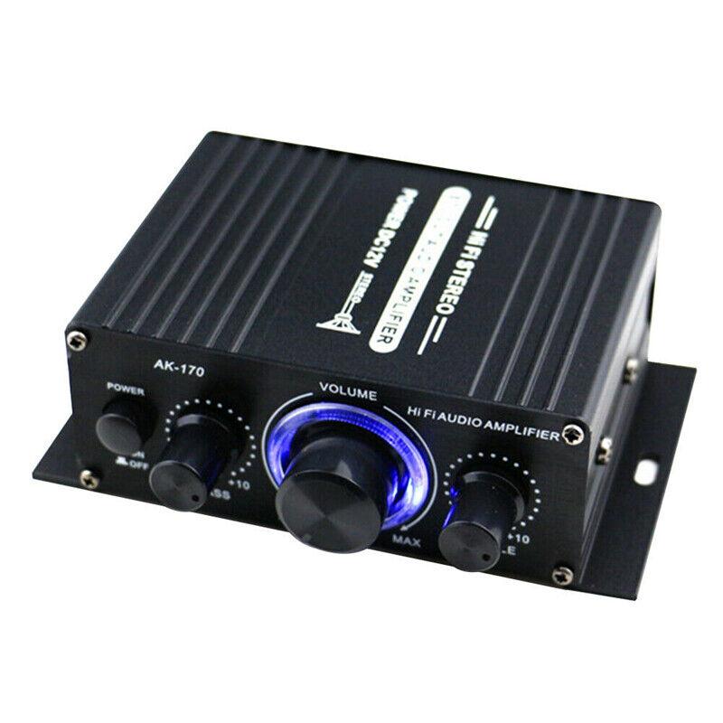 400W Power Digital Amplifier Home Audio HiFi Stereo Audio Car Amp MP3 MIC AUX
