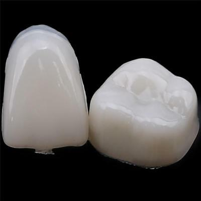 50x Dental Temporary Crowns Posteriors Molar Resin Tooth Teeth Caps 6l