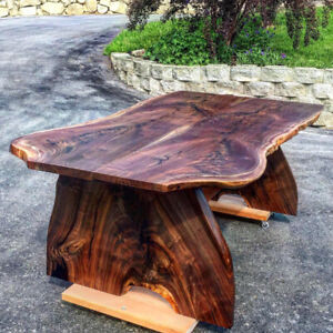 Live Edge Black Walnut Feature Dining Table