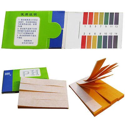 160 Strips Full Range Ph Alkaline Acid 1-14 Test Paper Water Litmus Testing Kit