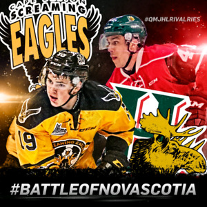 2 Mooseheads New Years Eve Tickets lower bowl