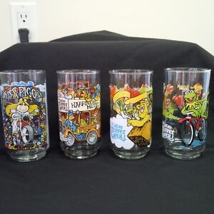 McDonalds Great Muppet Caper Glasses  1981 Kitchener / Waterloo Kitchener Area image 1