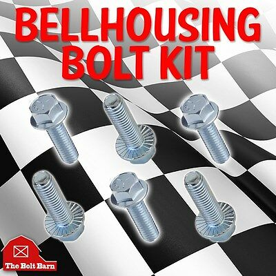 Small Block Ford Bellhousing Bolt Kit 289 302 351W - Kit# A103