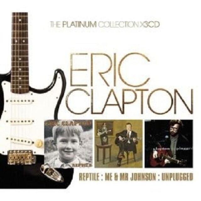 "ERIC CLAPTON""REPTILE/ME & MR.JOHNSON/UNPLUGGED 3 CD NEU"