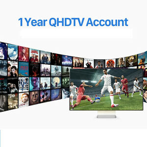 IPTV SUBSCRIPTION 1 YEAR - International Channels - 3000 channel