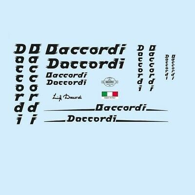 Daccordi Bicycle Decals, Stickers n.4 for sale  Shipping to United States