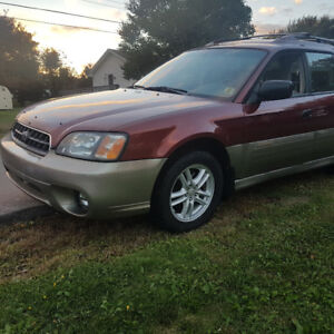 Subaru outback (manual transmission) parts