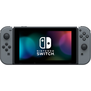 Nintendo Switch with games.