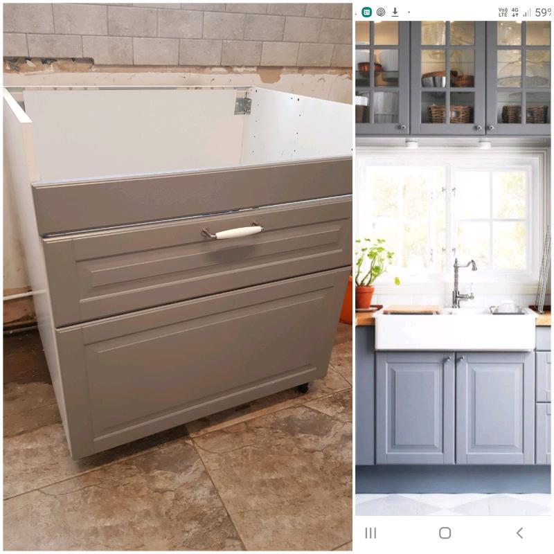 Ikea Bobyn Kitchen Sink Unit In Sunderland Tyne And Wear