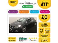 Vauxhall/Opel Astra 1.6i VVT 16v ( 115ps ) 2013MY SRi FROM £31 PER WEEK !