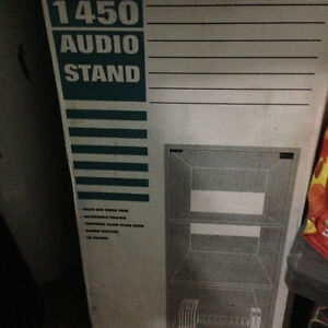 Stereo Stand Glass front 20in