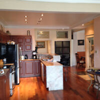 Grand,Spacious 5 1/2,ADJ Westmount,2 CAC,2 BDRMS, 5 min Metro