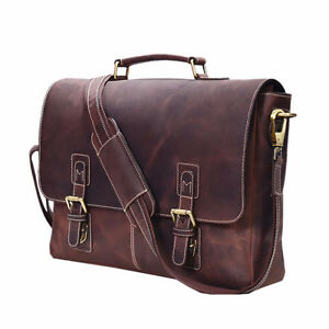 Genuine Vintage Leather Portfolio Bag London Ontario image 3