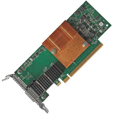 LOW PROFILE Intel 100HFA016LS Omni-Path Single-Port 100GbE QSFP28 PCIe 3.0 x16