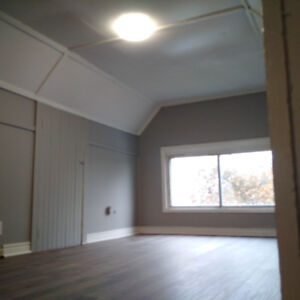 Newly Renovated Large Upper 2Bdrm With Finished Attic
