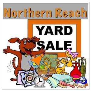 Northern Reach Yard Sale for the dogs!!