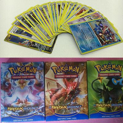 17 Pcs Children Kid Game Cartoon Pokemon EX & Common Card Anime Lots Gift Toy