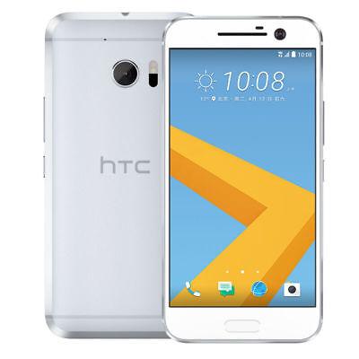"""HTC 10  - 5,2"""", 4 GB RAM, 32 GB ROM, 12,2 MP, Silber, Neu"""