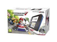 Nintendo 2DS Console + Mario Kart 7 BRAND NEW UNOPENED