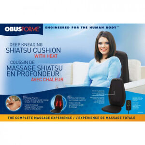 Brand new in a Box Deep Kneading Shiatsu Cusion With Heat
