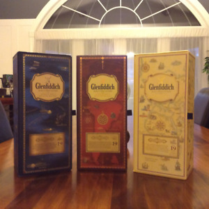 Glenfiddich Age of Discovery complete 3 bottle series