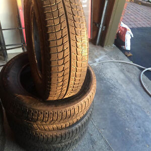 MICHELIN X ICE 205 65R15 WINTER TIRES EXCELLENT SHAPE