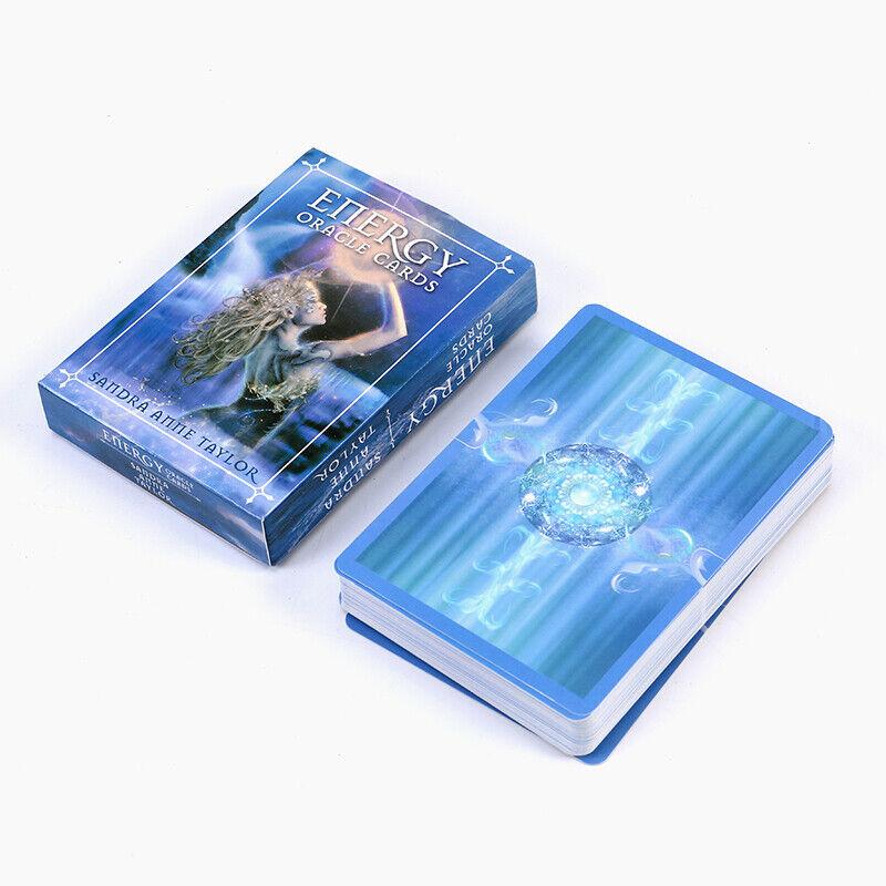 New 53 Energy Oracle Tarot Cards Deck Kit Set Fantasy
