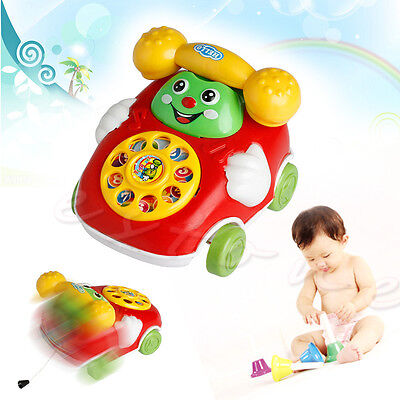 Baby Toys Music Cartoon Phone Educational Developmental Kids Toy Gift New