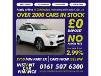 Mitsubishi Asx Di-D 4 Hatchback 1.8 Manual Diesel LOW RATE FINANCE AVAILABLE