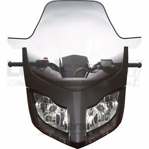 "Ski-Doo OEM Ultra High Windshield, 27""REV-XR, REV-XU, 860200227"