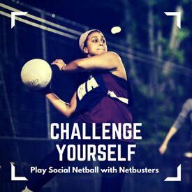Play Intermediate Netball in Brixton!