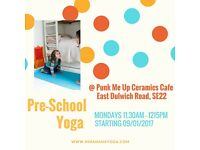 Pre-School Yoga Classes in South East London