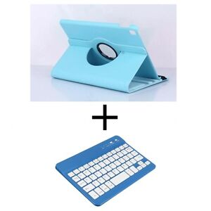 (SET) Blue Case + Bluetooth Keyboard for iPad Air 2 / Pro 9.7