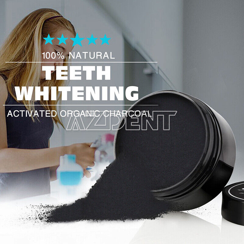 USPS! Dental Teeth Whitening Powder 100% Natural Activated O