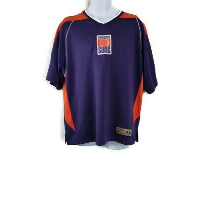 Phoenix Suns  NBA Retro Hardwood Classics Jersey Short Sleeve Purple and Orange