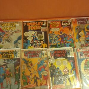 39 worlds finest comic books 1960 - 1986
